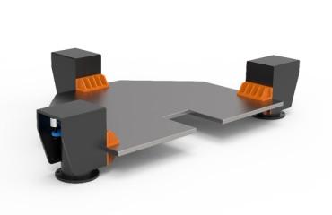 低重心隔振台架/光学平台